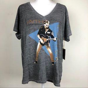 Trunk Ltd. Faith George Michael Graphic T-shirt XL